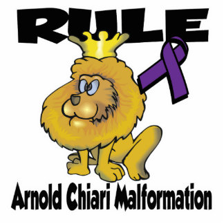 Rule Arnold Chiari Malformation Photo Sculpture Keychain