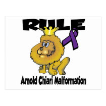 Rule Arnold Chiari Malformation Postcard