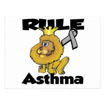 Rule Asthma Postcard