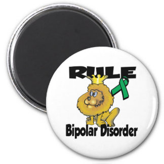 Rule Bipolar Disorder 2 Inch Round Magnet
