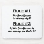 Rule Bookkeeper Mouse Pad