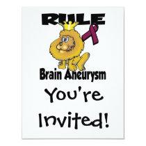 Rule Brain Aneurysm Invitation