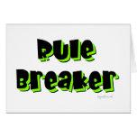 Rule Breaker Greeting Cards