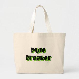 Rule Breaker Large Tote Bag