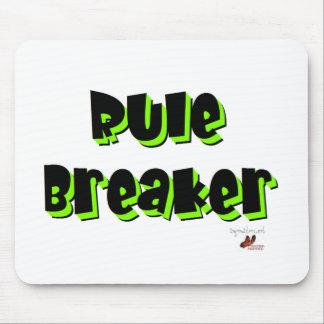 Rule Breaker Mouse Pad