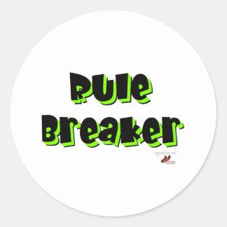 Rule Breaker Stickers