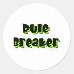 Rule Breaker Sticker