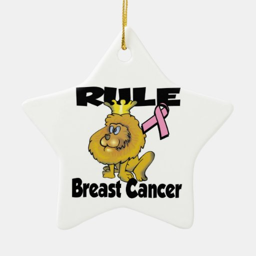 Rule Breast Cancer Christmas Ornaments