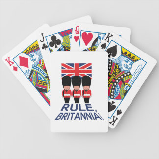 Rule Britannia Bicycle Playing Cards