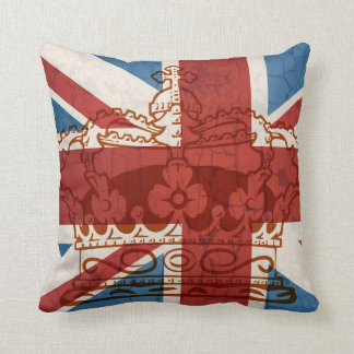 Rule Britannia Cushion Style 3 Throw Pillow