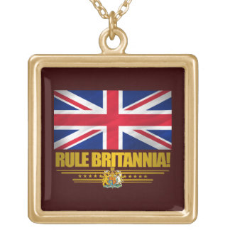 Rule Britannia! Gold Plated Necklace