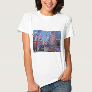 Rule Britannia London covered with Union Jack Flag T-Shirt