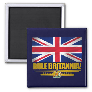 Rule Britannia! 2 Inch Square Magnet