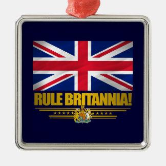 Rule Britannia! Metal Ornament