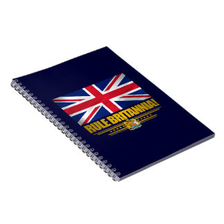 Rule Britannia! Spiral Notebook