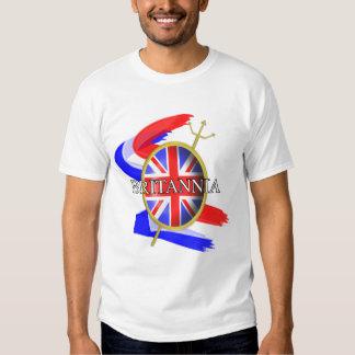 Rule Britannia Union Jack British Themed Graphic T-Shirt