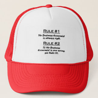 Rule Business Economist Trucker Hat