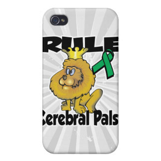 Rule Cerebral Palsy iPhone 4/4S Cases