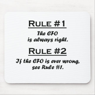 Rule CFO Mouse Pad
