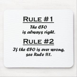 Rule CFO Mouse Pads