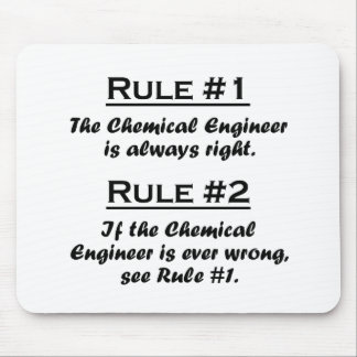 Rule Chemical Engineer Mouse Pad