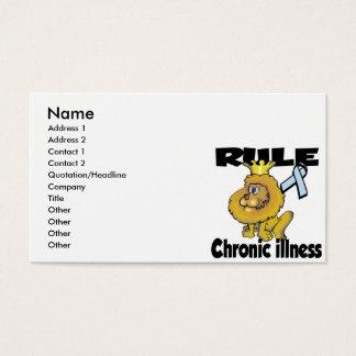 Rule Chronic Illness Business Card