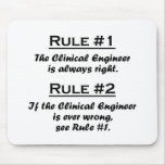 Rule Clinical Engineer Mouse Pad