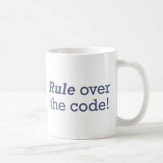 Rule / Code Mugs