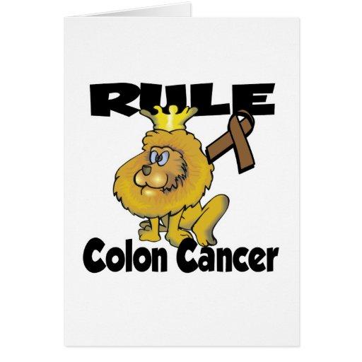 Rule Colon Cancer Card