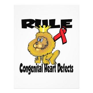 """Rule Congenital Heart Defects 8.5"""" X 11"""" Flyer"""