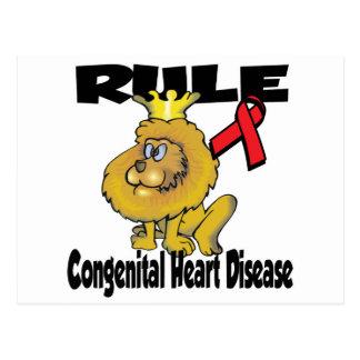 Rule Congenital Heart Disease Postcard