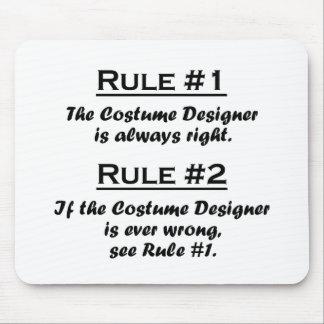Rule Costume Designer Mouse Pad