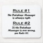 Rule Database Manager Mouse Pads