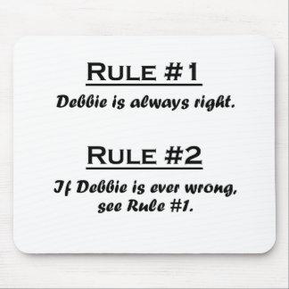 Rule Debbie Mouse Pad