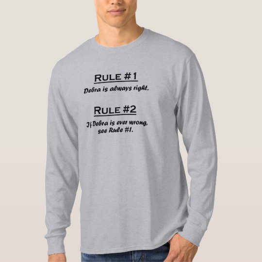 Rule Debra T-Shirt
