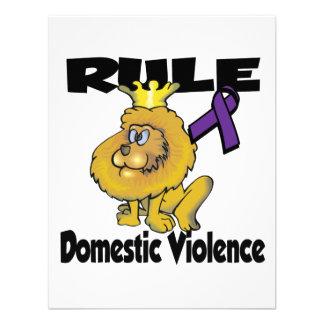 Rule Domestic Violence Custom Invites