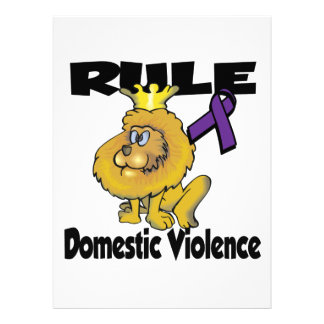 Rule Domestic Violence Personalized Announcement