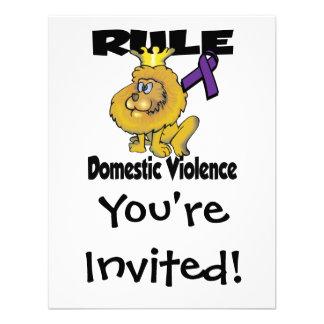 Rule Domestic Violence Announcement