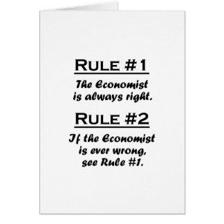 Rule Economist Card