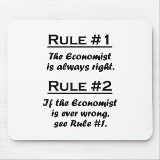 Rule Economist Mouse Pad
