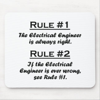 Rule Electrical Engineer Mouse Pad