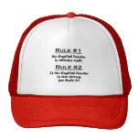 Rule English Teacher Trucker Hats