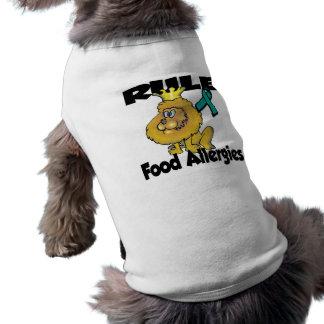 Rule Food Allergies Dog T-shirt