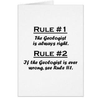 Rule Geologist Card