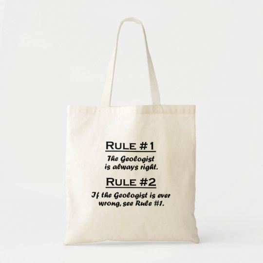 Rule Geologist Tote Bag