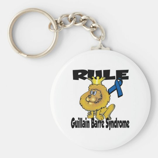 Rule Guillain Barre Syndrome Keychain