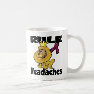 Rule Headaches Classic White Coffee Mug