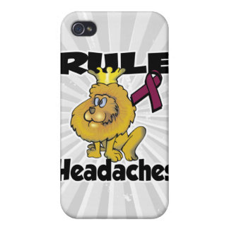 Rule Headaches Cover For iPhone 4