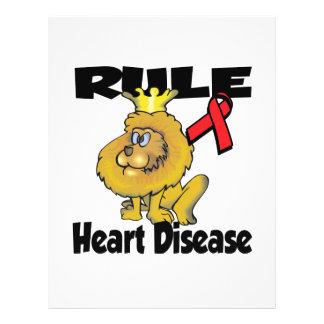 """Rule Heart Disease 8.5"""" X 11"""" Flyer"""