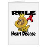 Rule Heart Disease Greeting Cards